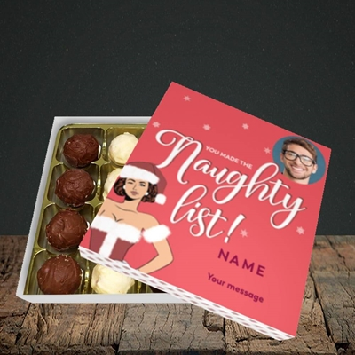 Picture of Naughty List, Christmas Design, Choc 16