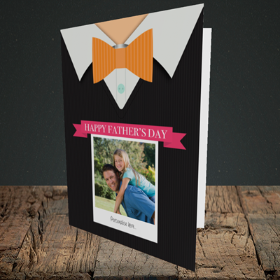 Picture of Bowtie, Father's Day Design, Portrait Greetings Card