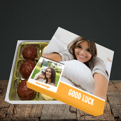 Picture of Photo, Good Luck Design, Choc 9