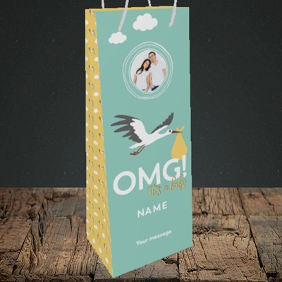 Picture of OMG! It's a Baby, New Baby Design, Bottle Bag