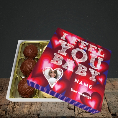 Picture of I Feel You Baby, Valentine's Design, Choc 9