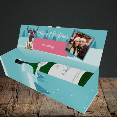 Picture of Countdown, Christmas Design, Lay-down Bottle Box
