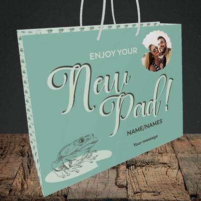 Picture of New Pad, New Home Design, Medium Landscape Gift Bag