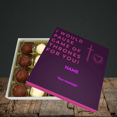Picture of Game Of Thrones, (Without Photo) Valentine Design, Choc 16