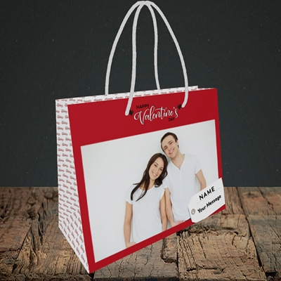 Picture of 1.A Valentine's Large Photo, Valentine's Design, Small Landscape Gift Bag