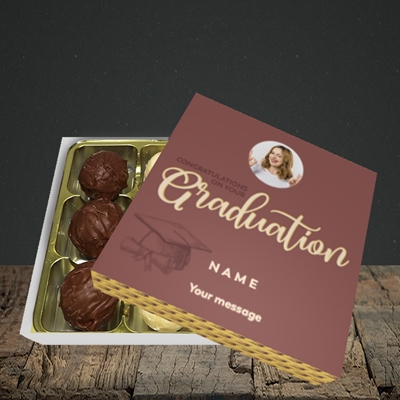 Picture of Your Graduation, Graduation Design, Choc 9