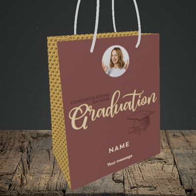 Picture of Your Graduation, Graduation Design, Small Portrait Gift Bag