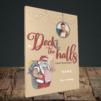 Picture of Deck The Halls, Standard Advent Calendar
