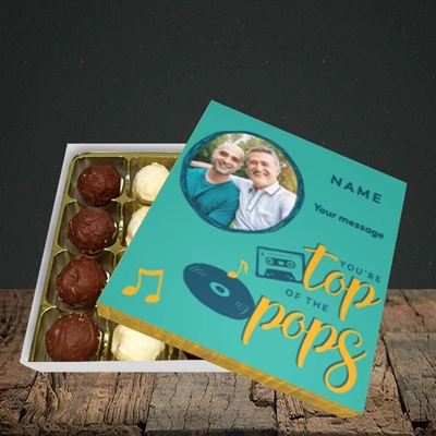 Picture of Top Of The Pops, Father's Day Design, Choc 16