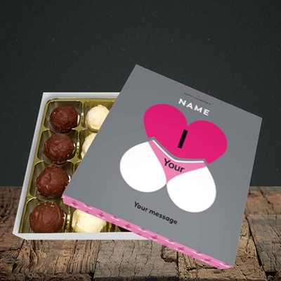 Picture of I Love Your Bum(Without Photo), Valentine Design, Choc 16