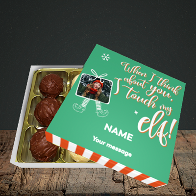 Picture of Touch My Elf, Christmas Design, Choc 9