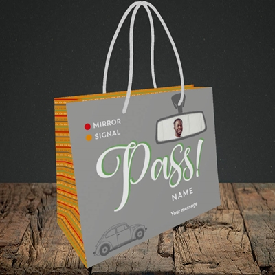 Picture of Mirror Signal Pass, Celebration Design, Small Landscape Gift Bag