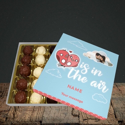 Picture of Love Is In The Air, Valentine's Design, Choc 25