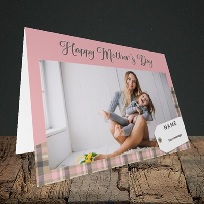 Picture of 1. Large Photo(Chequer), Mother's Day Design, Landscape Greetings Card