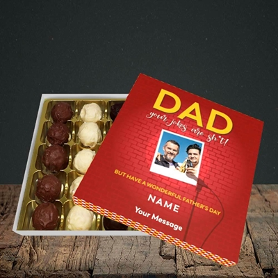 Picture of Dad Jokes, Father's Day Design, Choc 25