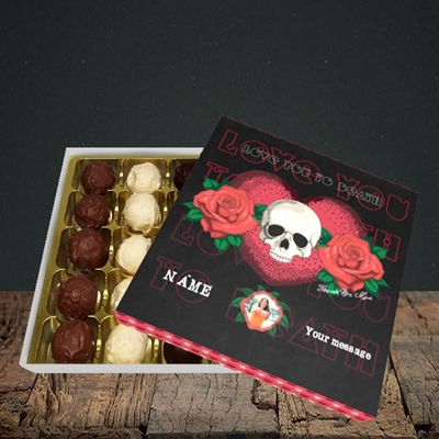 Picture of Love You To Death, Valentine Design, Choc 25