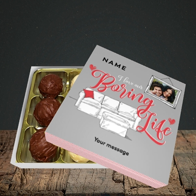 Picture of Boring Life, Valentine's Design, Choc 9