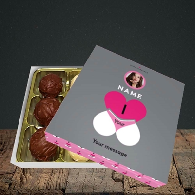 Picture of I Love Your Bum, Valentine Design, Choc 9