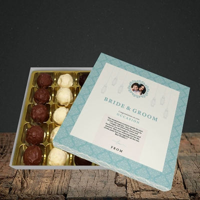 Picture of Moroccan Influences Teal B&G, Wedding Design, Choc 25
