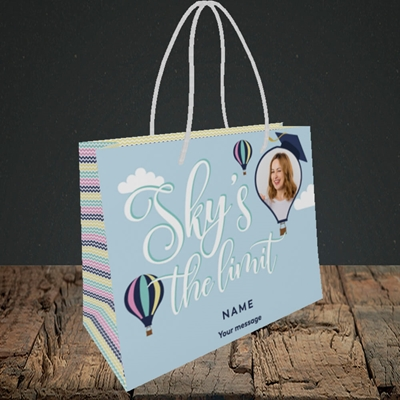 Picture of Sky's the Limit, Graduation Design, Small Landscape Gift Bag