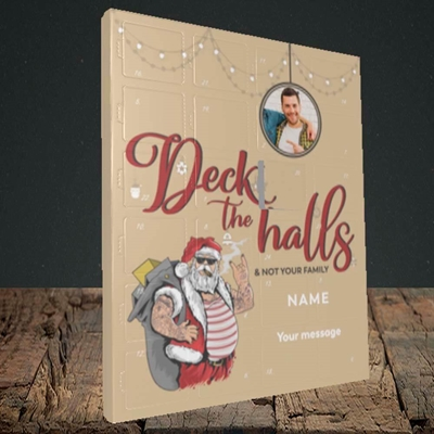 Picture of Deck The Halls, Truffle Advent Calendar