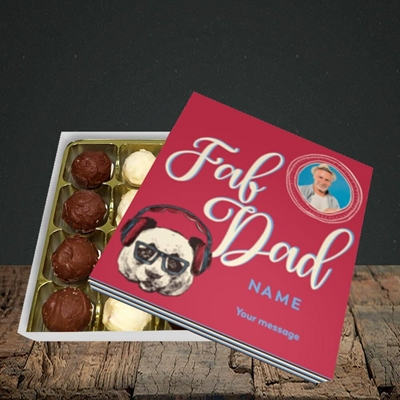 Picture of Fab Dad, Birthday Design, Choc 16