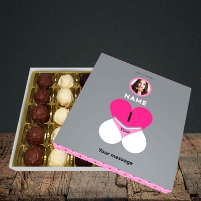 Picture of I Love Your Bum, Valentine Design, Choc 25