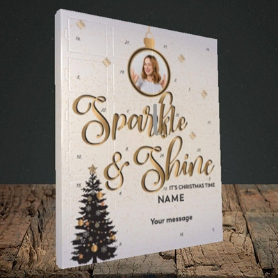 Picture of Sparkle & Shine, Truffle Advent Calendar