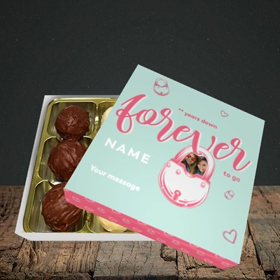 Picture of Forever To Go, Anniversary Design, Choc 9