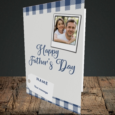 Picture of 2. Polaroid, Father's Day Design, Portrait Greetings Card