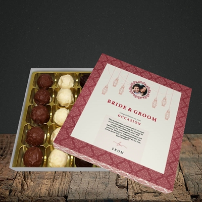 Picture of Moroccan Influences Red B&G, Wedding Design, Choc 25