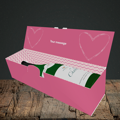 Picture of I Bloody Love You(Without Photo), Valentine's Design, Lay-down Bottle Box