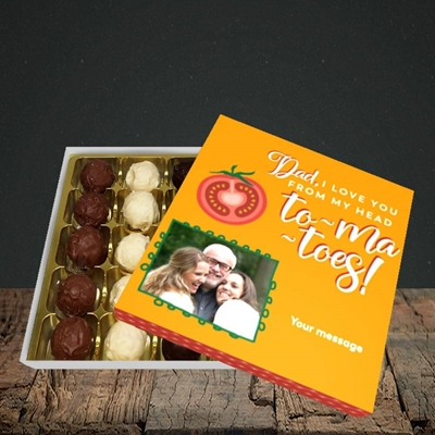 Picture of Tomatoes, Father's Day Design, Choc 25