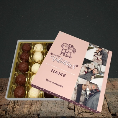 Picture of Holding Hands, Valentine's Design, Choc 25