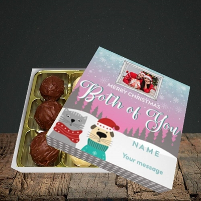 Picture of Both Of You, Christmas Design, Choc 9