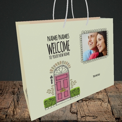 Picture of Doors, New Home Design, Medium Landscape Gift Bag