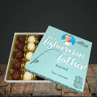 Picture of Fisherman, Father's Day Design, Choc 25