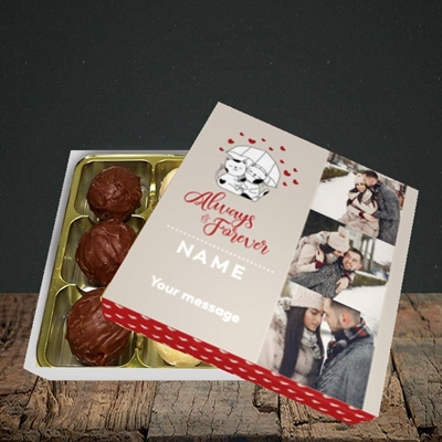Picture of Always & Forever, Valentine's Design, Choc 9