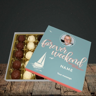 Picture of Forever Weekend, Retirement Design, Choc 25