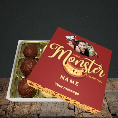 Picture of Monster Thank You, Thank You Design, Choc 9