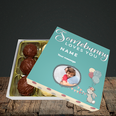 Picture of Somebunny Loves You, Easter Design, Choc 9