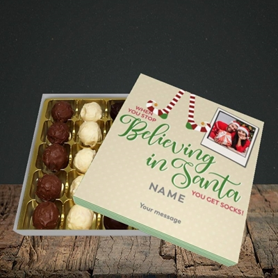 Picture of Believing In Santa, Christmas Design, Choc 25
