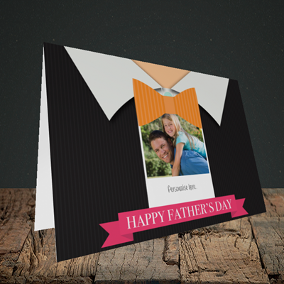 Picture of Bowtie, Father's Day Design, Landscape Greetings Card