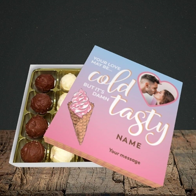 Picture of Cold But Tasty, Valentine's Design, Choc 16