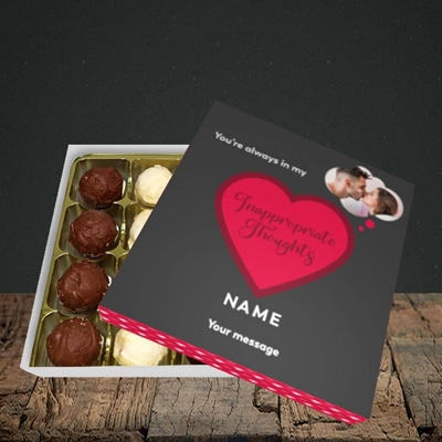 Picture of Inappropriate Thoughts, Valentine's Design, Choc 16
