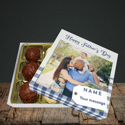 Picture of 1. Large Photo, Father's Day Design, Choc 9