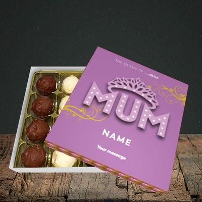 Picture of The Queen(Without Photo), Mother's Day Design, Choc 16