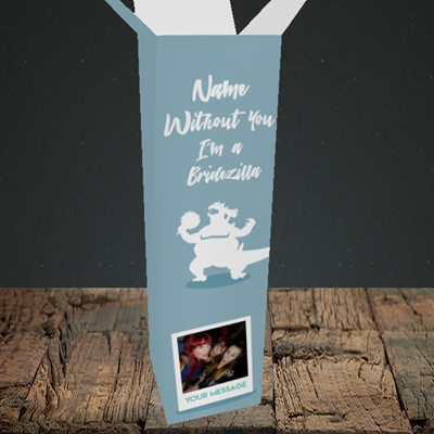 Picture of Bridezilla, Engagement Design, Upright Bottle Box