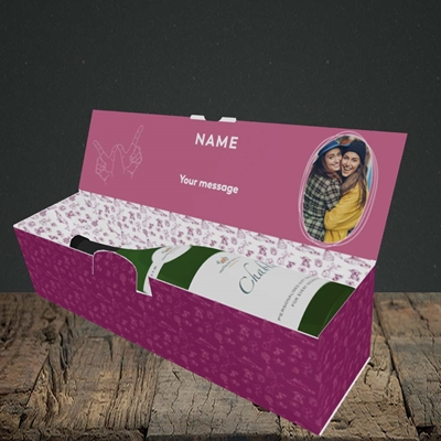 Picture of Bitch Please!, Wedding Design, Lay-down Bottle Box