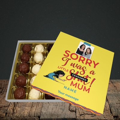 Picture of Little Sh*t, Mother's Day Design, Choc 25